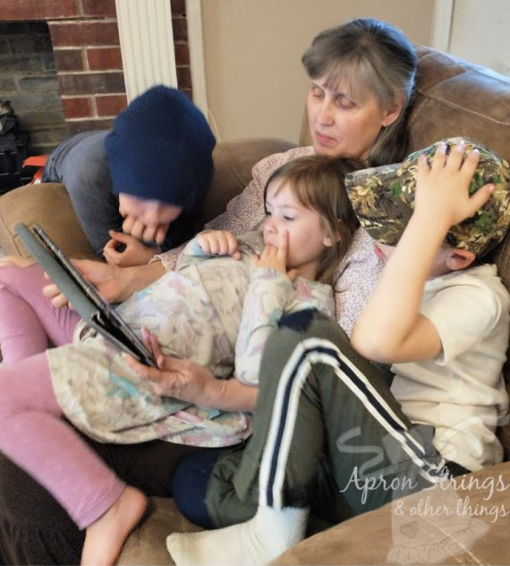one more story with grandkids at apronstringsotherthings.com