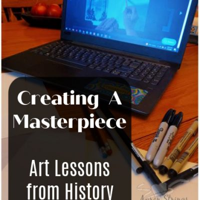 Creating A Masterpiece – Art Lessons from History (a review)