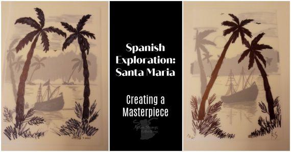 santa maria project creating a masterpiece at apronstringsotherthings.com