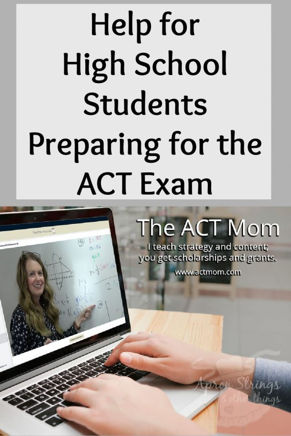 act mom online class test prep high school at apronstringsotherthings.com