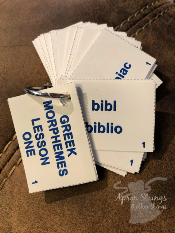 its not greek to me flash cards at apronstringsotherthings.com