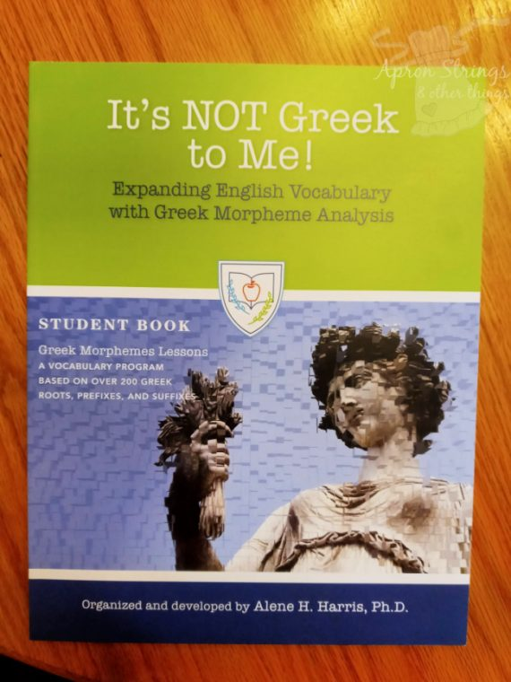 its not greek to me student book at apronstringsotherthings.com