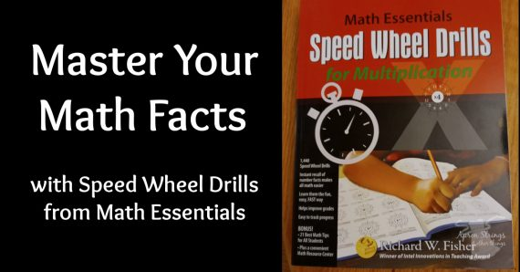 mastering math facts speed wheel drills math essentials at apronstringsotherthings.com