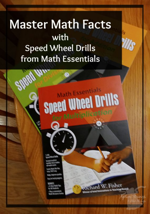 speed wheel drills math essentials homeschool review crew at apronstringsotherthings.com