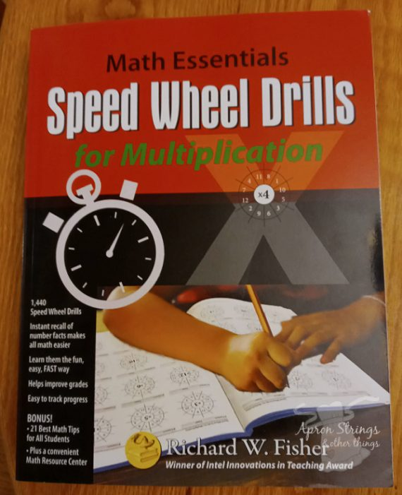 speed wheel drills multiplication workbook math essentials at apronstringsotherthings.com