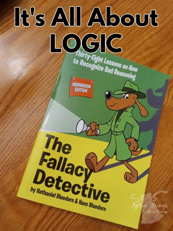 the fallacy detective workbook homeschool crew review logic at apronstringsotherthings.com