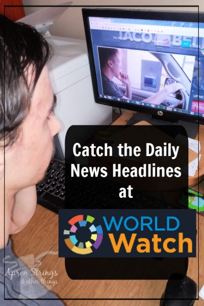 daily news headlines world watch at apronstringsotherthings.com